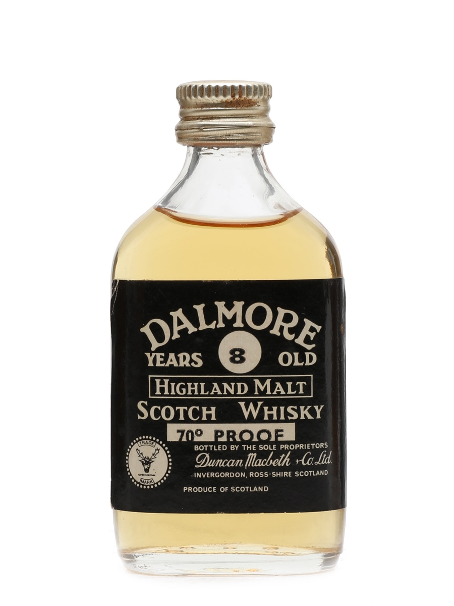 Dalmore 8 Year Old 70 Proof Duncan Macbeth 5cl / 40%