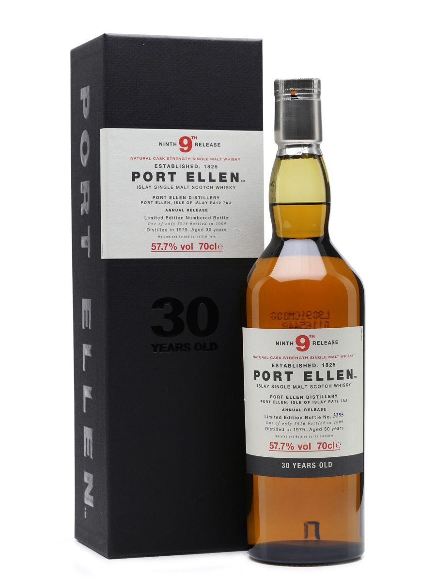 Port Ellen 1979 - 9th Release 30 Year Old 70cl