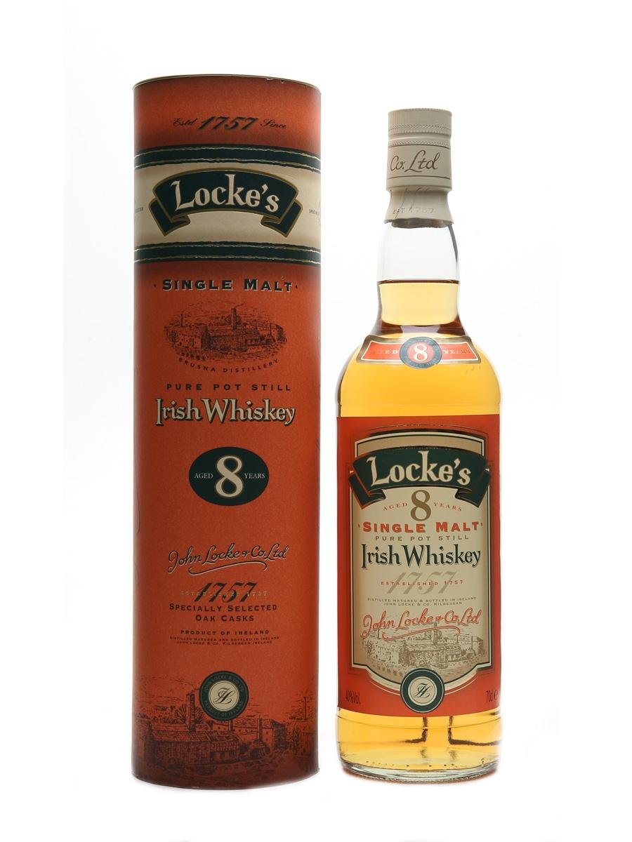 Locke's 8 Year Old Irish Single Malt 70cl / 40%