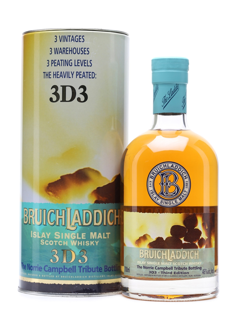 Bruichladdich 3D3 Norrie Campbell Tribute 70cl