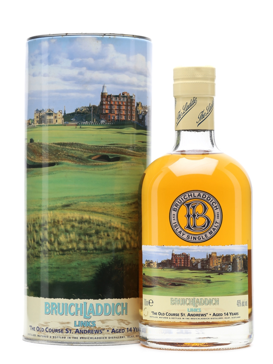 Bruichladdich Links The Old Course St. Andrews 14 Years Old 70cl  / 46%