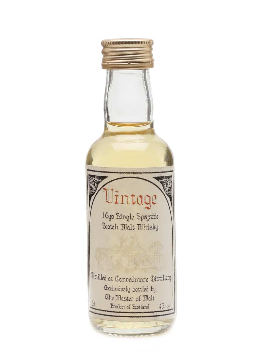 Convalmore 16 Year Old Master Of Malt 5cl / 43%