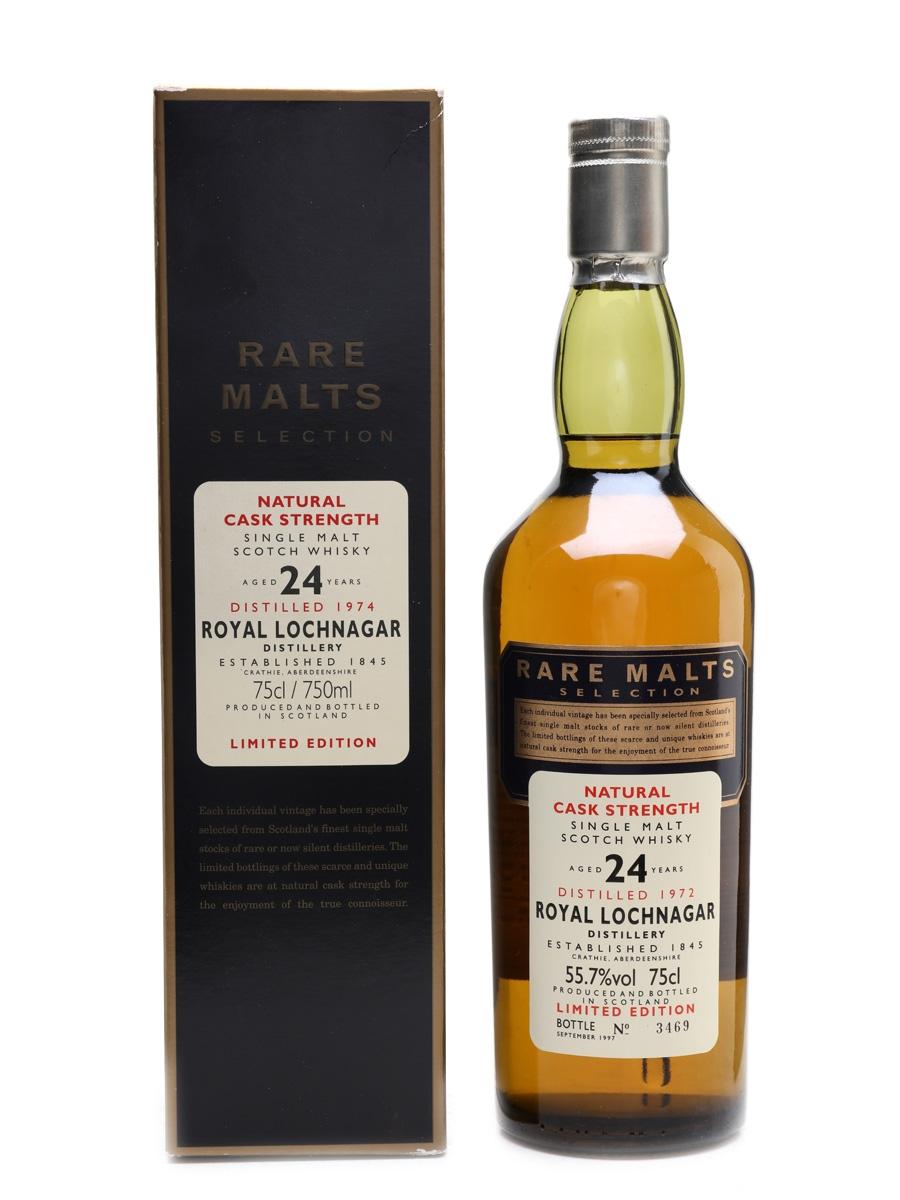Royal Lochnagar 1972 24 Year Old Bottled 1997 - Rare Malts Selection 75cl / 55.7%