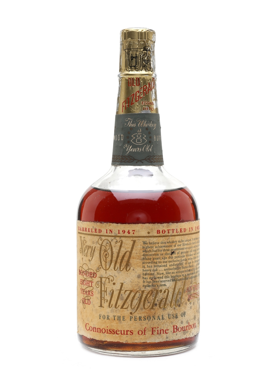 Very Old Fitzgerald 8 Year Old 1947 Stitzel-Weller - Bottled 1955 75cl / 50%