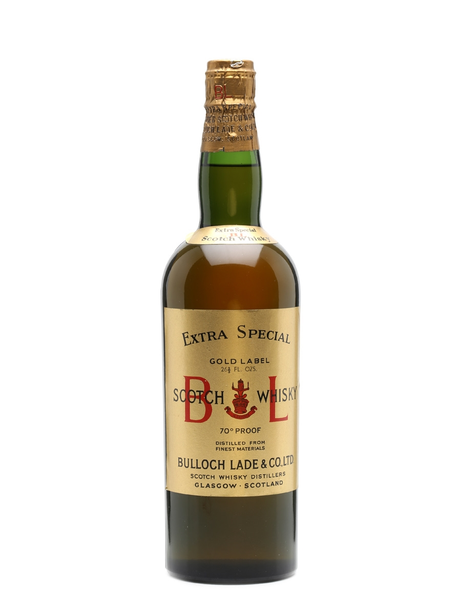 Bulloch Lade's Gold Label Spring Cap Bottled 1950s 75cl / 43%