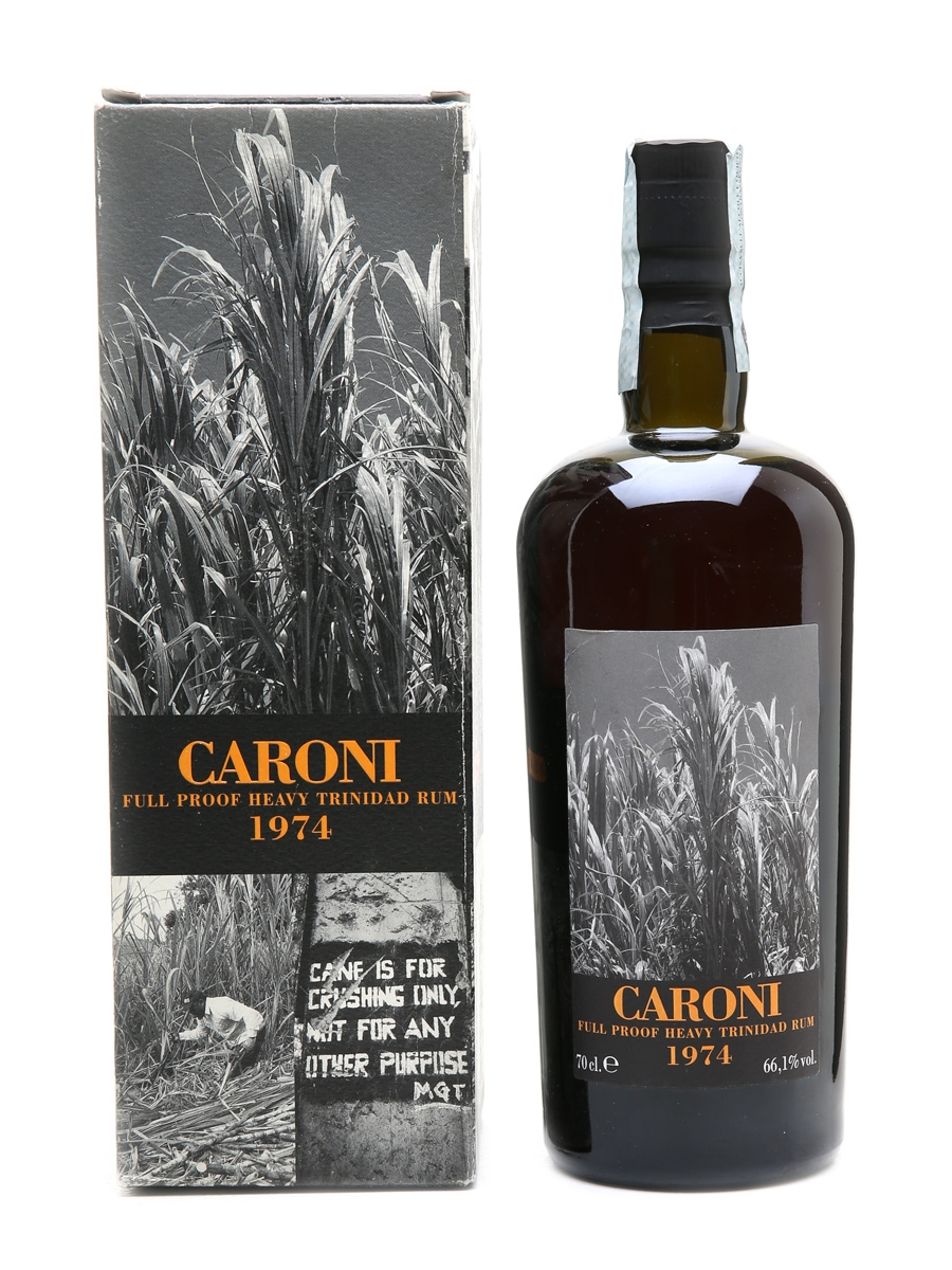 Caroni 1974 Full Proof Heavy Trinidad Rum 34 Year Old - Velier 70cl / 66.1%