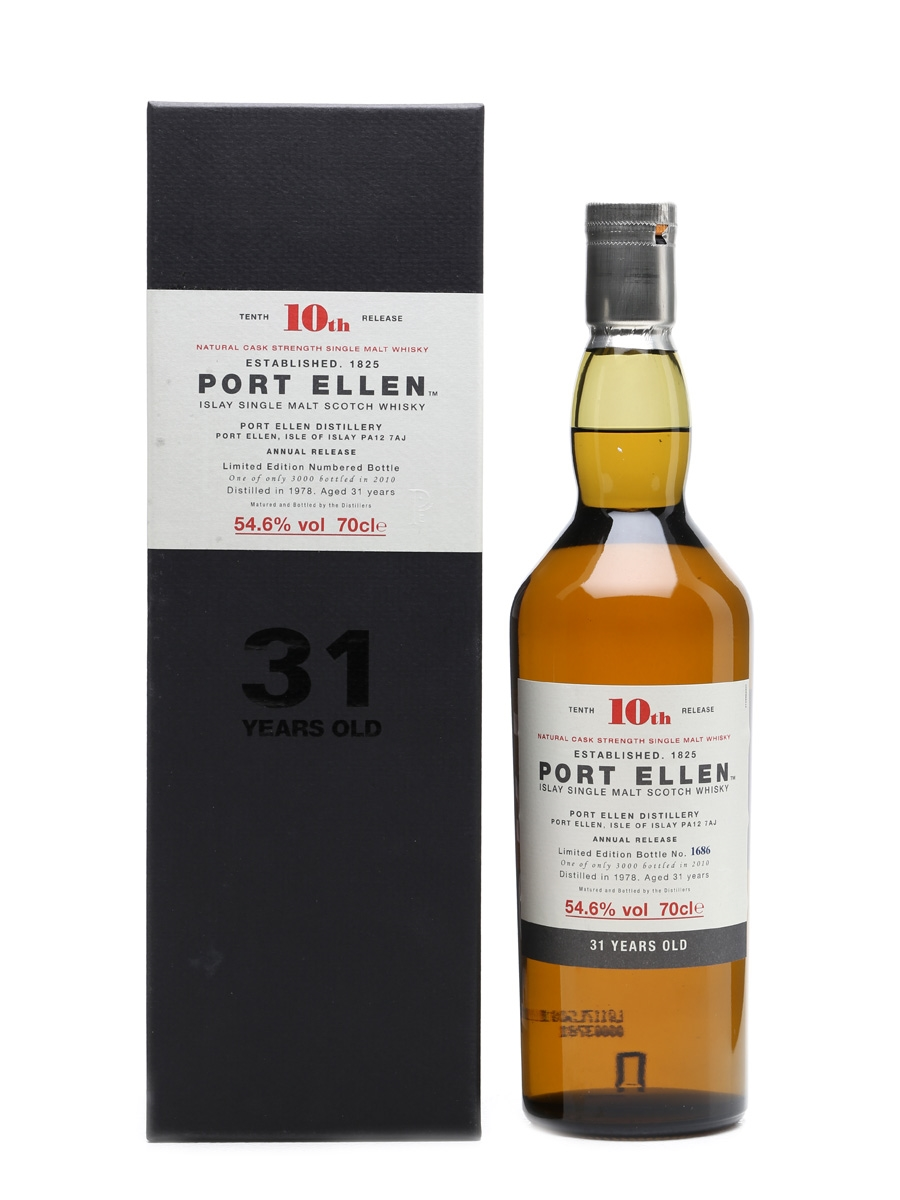 Port Ellen 1978 - 10th Release 31 Years Old 70cl