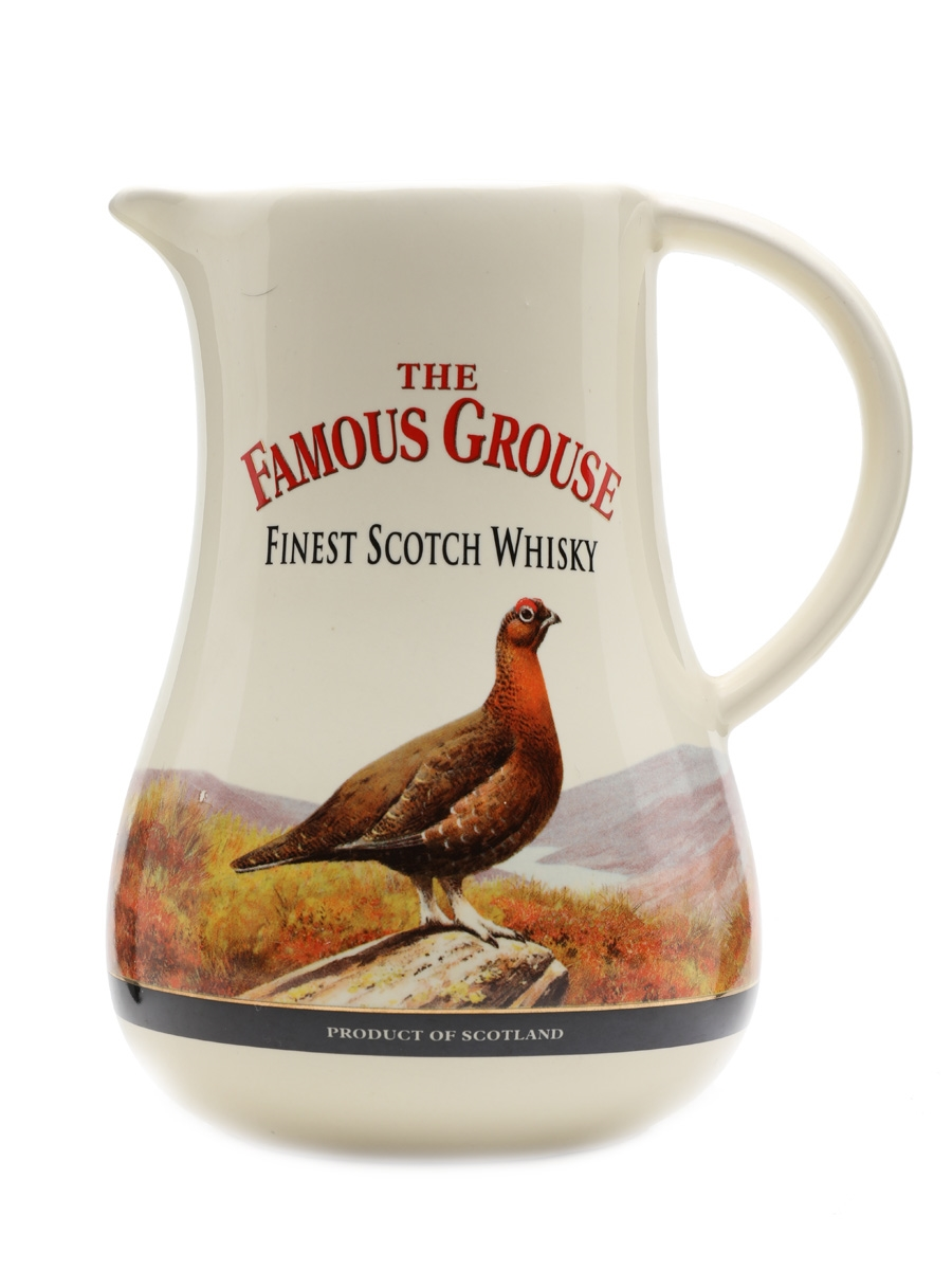 The Famous Grouse Large Ceramic Water Jug