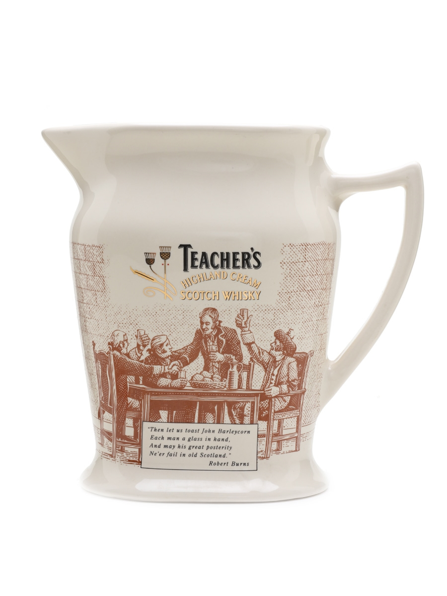 Teacher's Ceramic Water Jug Large