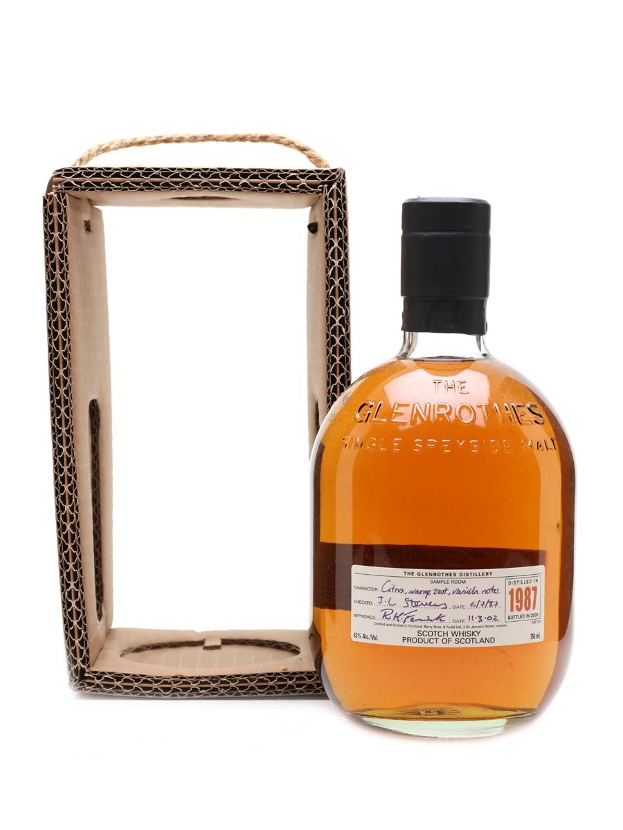 Glenrothes 1987 Bottled 2002 75cl / 43%