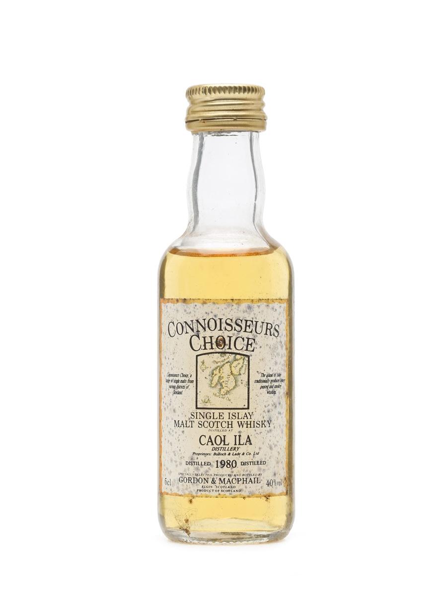 Caol Ila 1980 Connoisseurs Choice Bottled 1990s - Gordon & MacPhail Miniature
