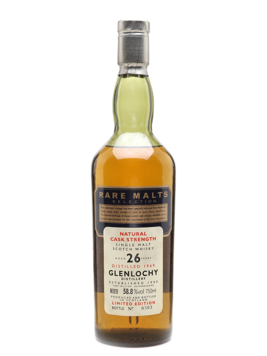 Glenlochy 1969 26 Year Old Rare Malts Selection - South African Market 75cl / 58.8%