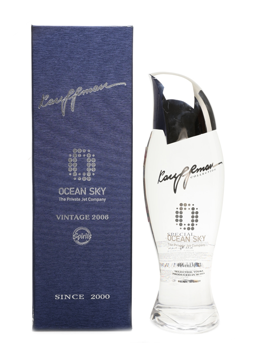 Kauffman 2006 Vintage Vodka Ocean Sky 70cl / 40%
