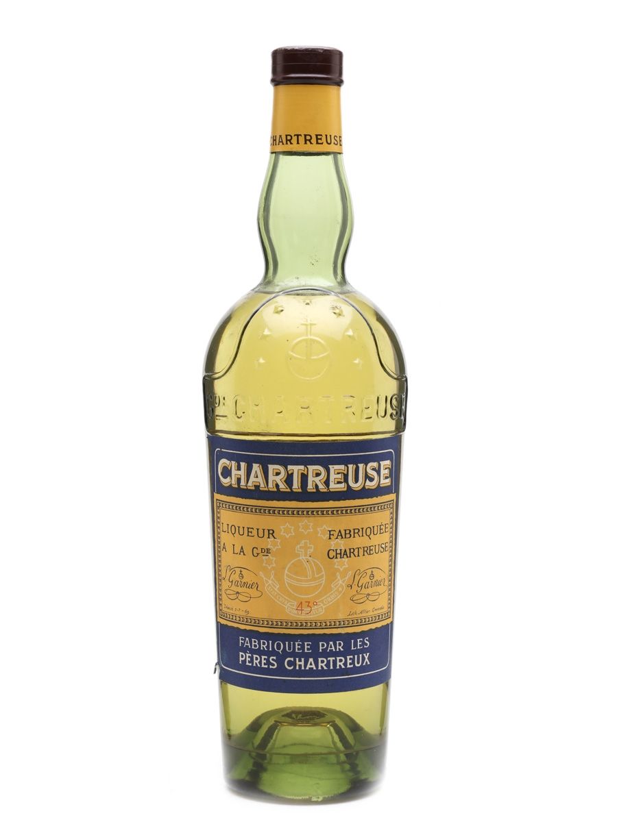 Chartreuse Yellow Bottled 1956-1964 70cl / 43%