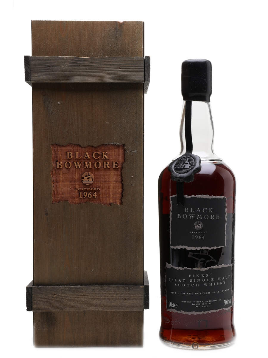 Black Bowmore 1964 Bottled 1993 - 1st Edition 70cl / 50%