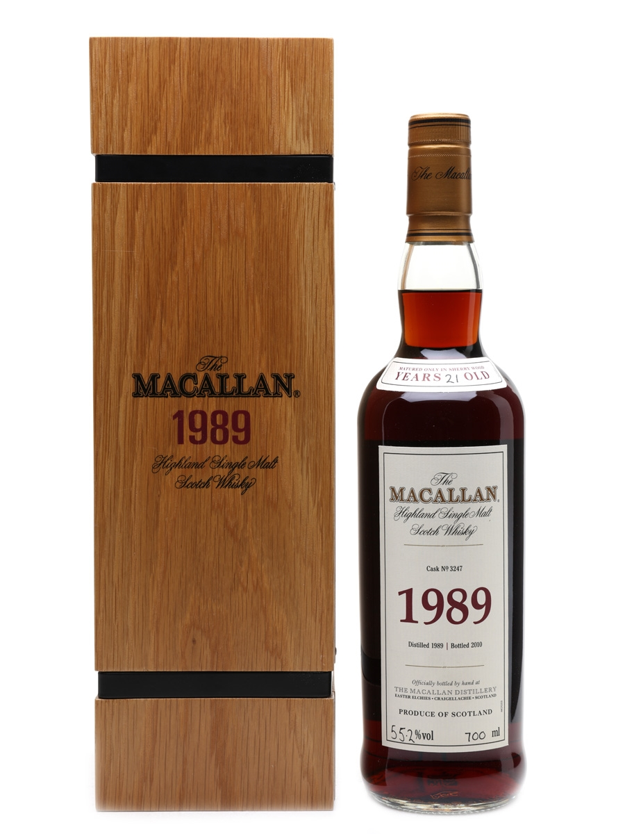 Macallan 1989 Fine & Rare 21 Year Old - Cask No. 3247 70cl / 55.2%