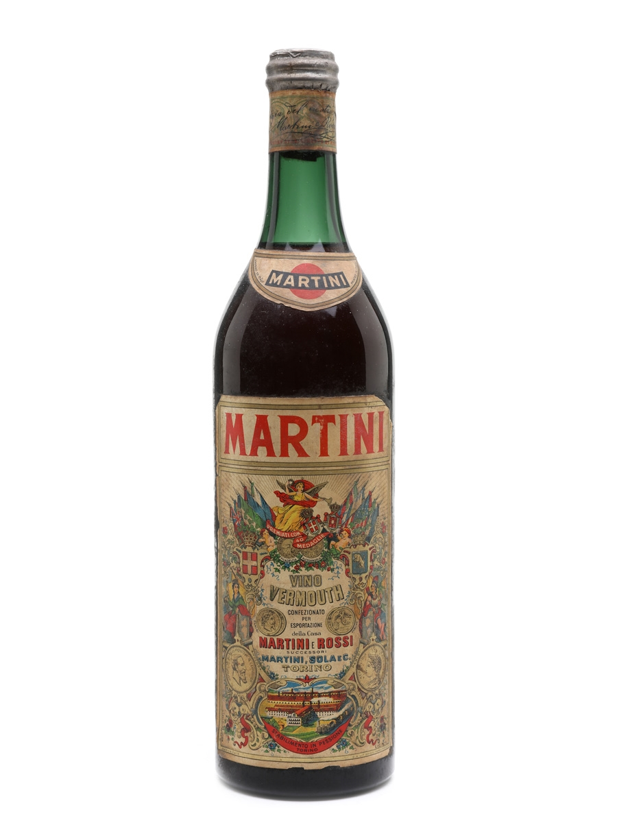 Martini Vermouth Bottled 1950s 100cl / 17%