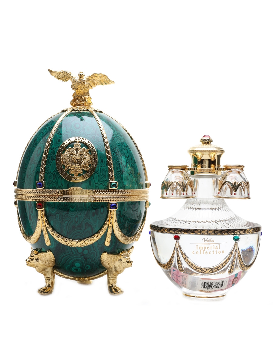Faberge Art's Applied Craft Imperial Vodka  75cl / 40%