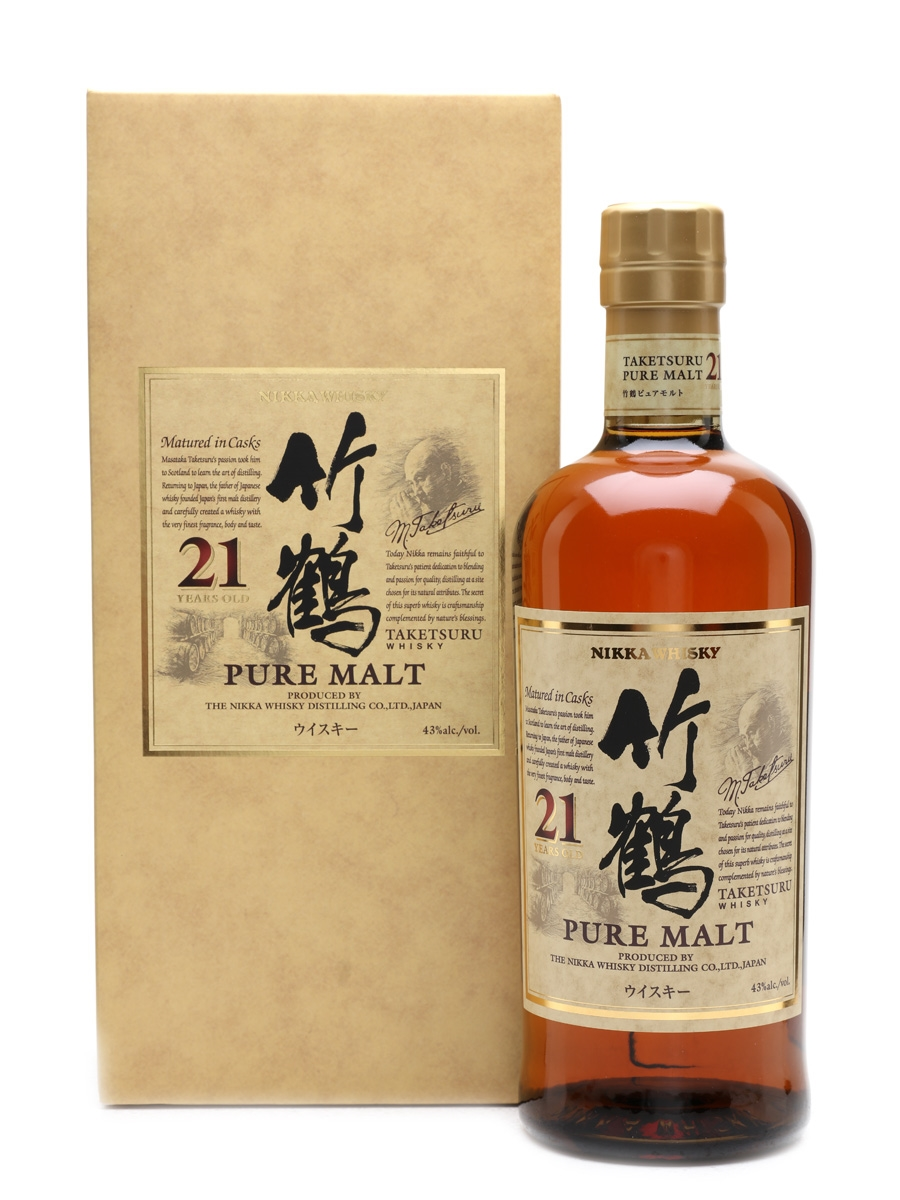 Taketsuru Pure Malt 21 Year Old Nikka 70cl / 43%