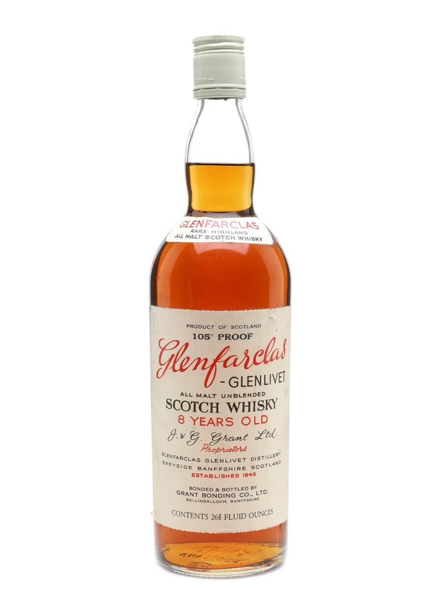 Glenfarclas -Glenlivet 8 Year Old 105 Proof Bottled 1959-1965 75.7cl / 60%