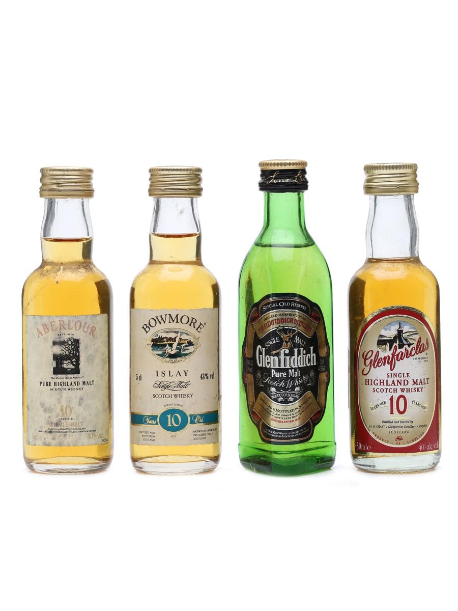 4 x Single Malt Whisky Miniatures