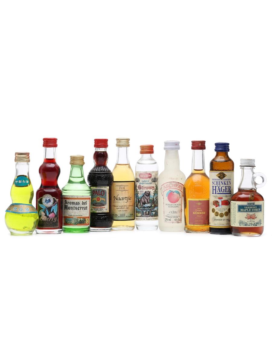 10 x Assorted Liqueurs Miniatures