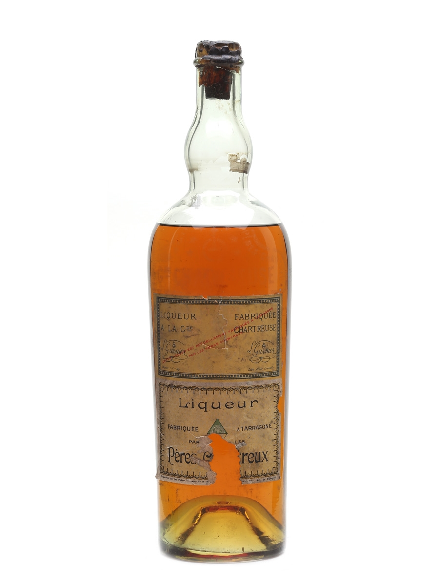 Chartreuse Yellow Bottled 1912-1913 - Tarragona 75cl / 40%