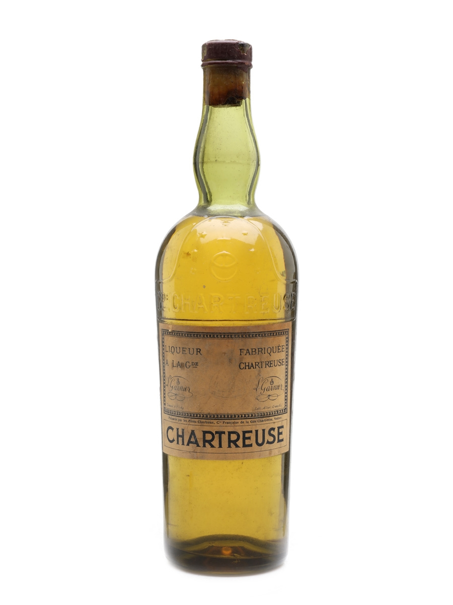 Chartreuse Yellow Bottled 1950s 75cl / 40%