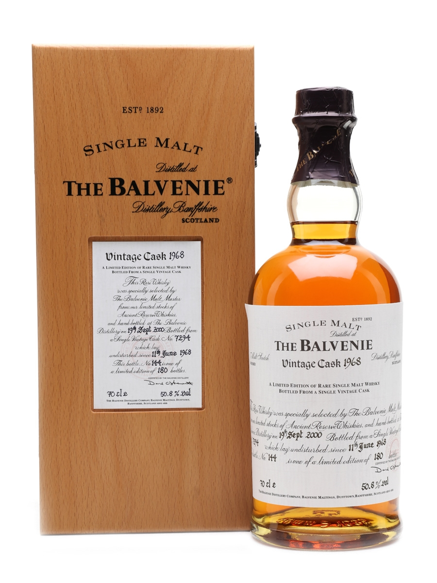 Balvenie 1968 Vintage Cask 32 Year Old 70cl / 50.8%