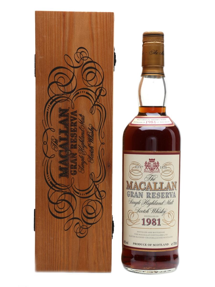 Macallan 1981 Gran Reserva  70cl / 40%