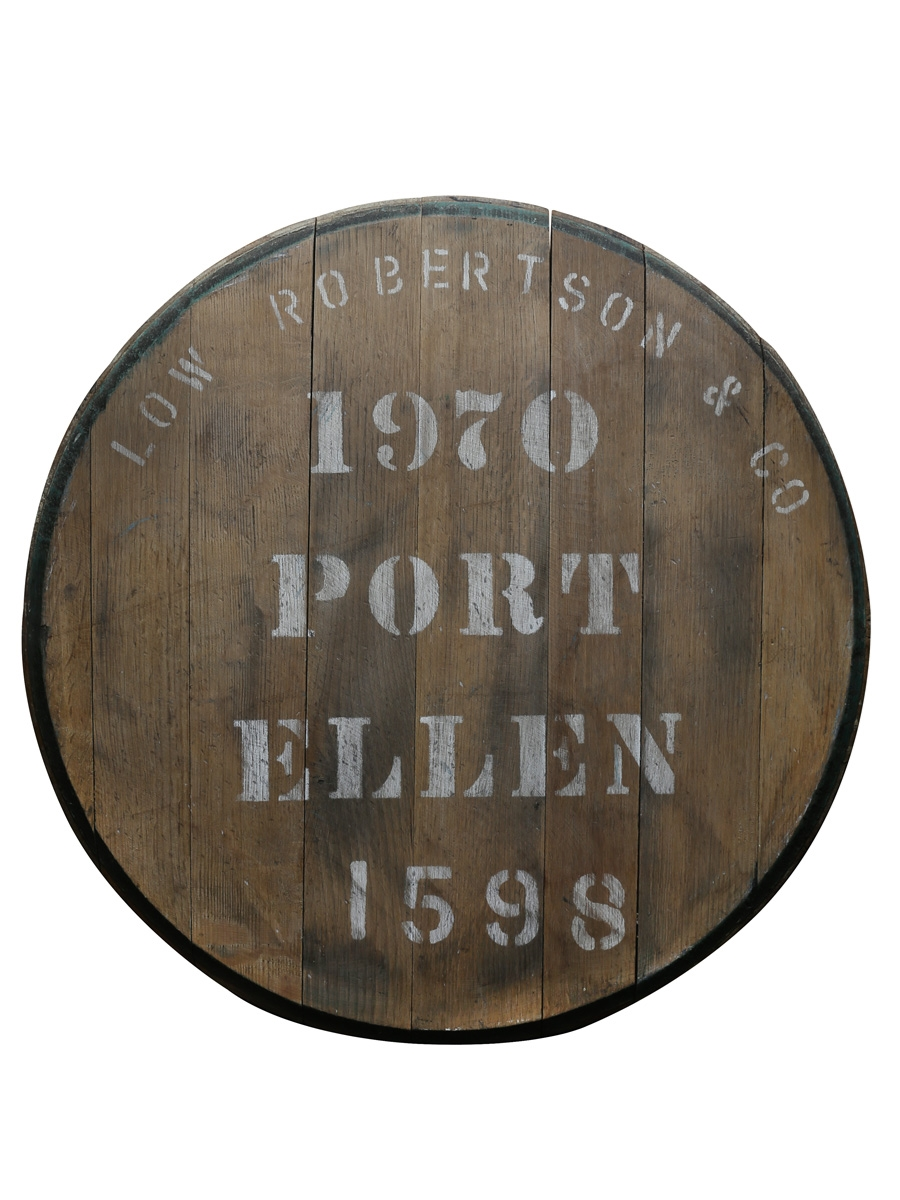 Port Ellen 1970 Cask End Number 1598