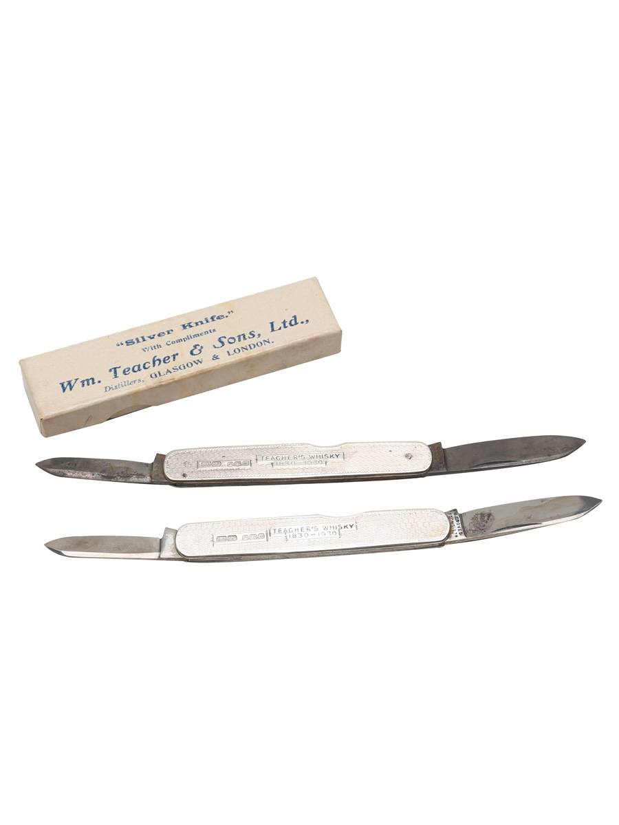 Teacher's Silver Knife 1830-1930 Sterling Silver, Made 1929