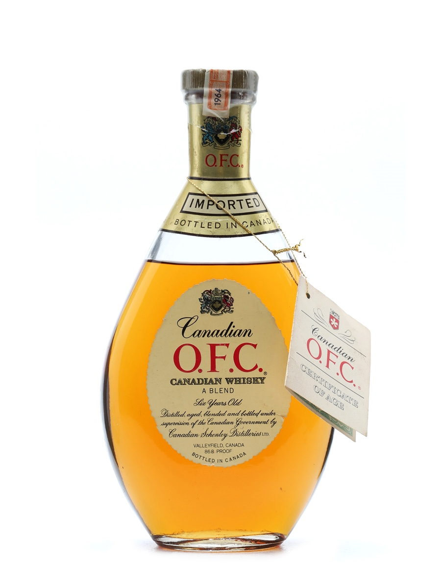 Canadian O.F.C 1964 6 Years Old 75cl