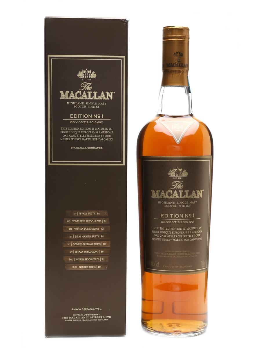 Macallan Edition No 1 Edrington Americas 75cl / 48%