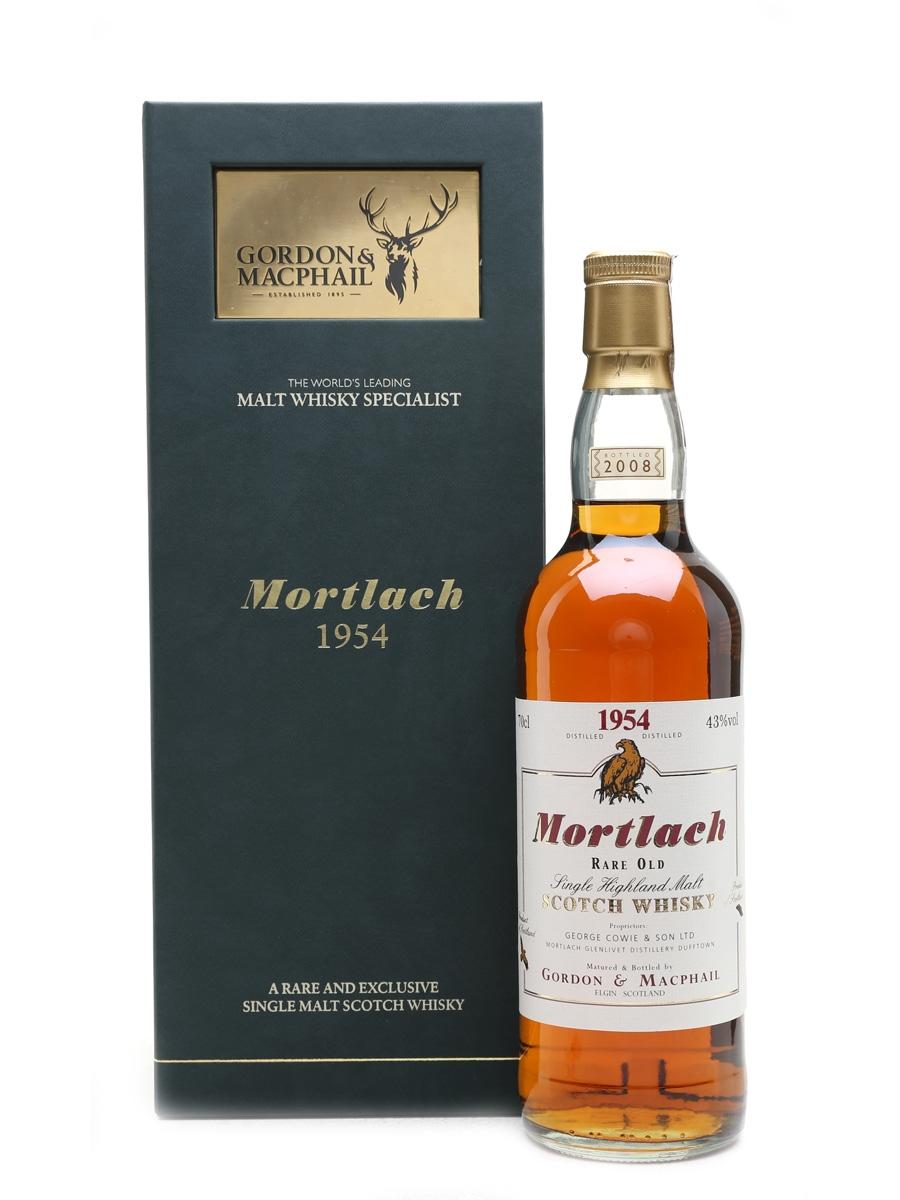 Mortlach 1954 Single Cask Bottled 2008 - Gordon & MacPhail 70cl / 43%