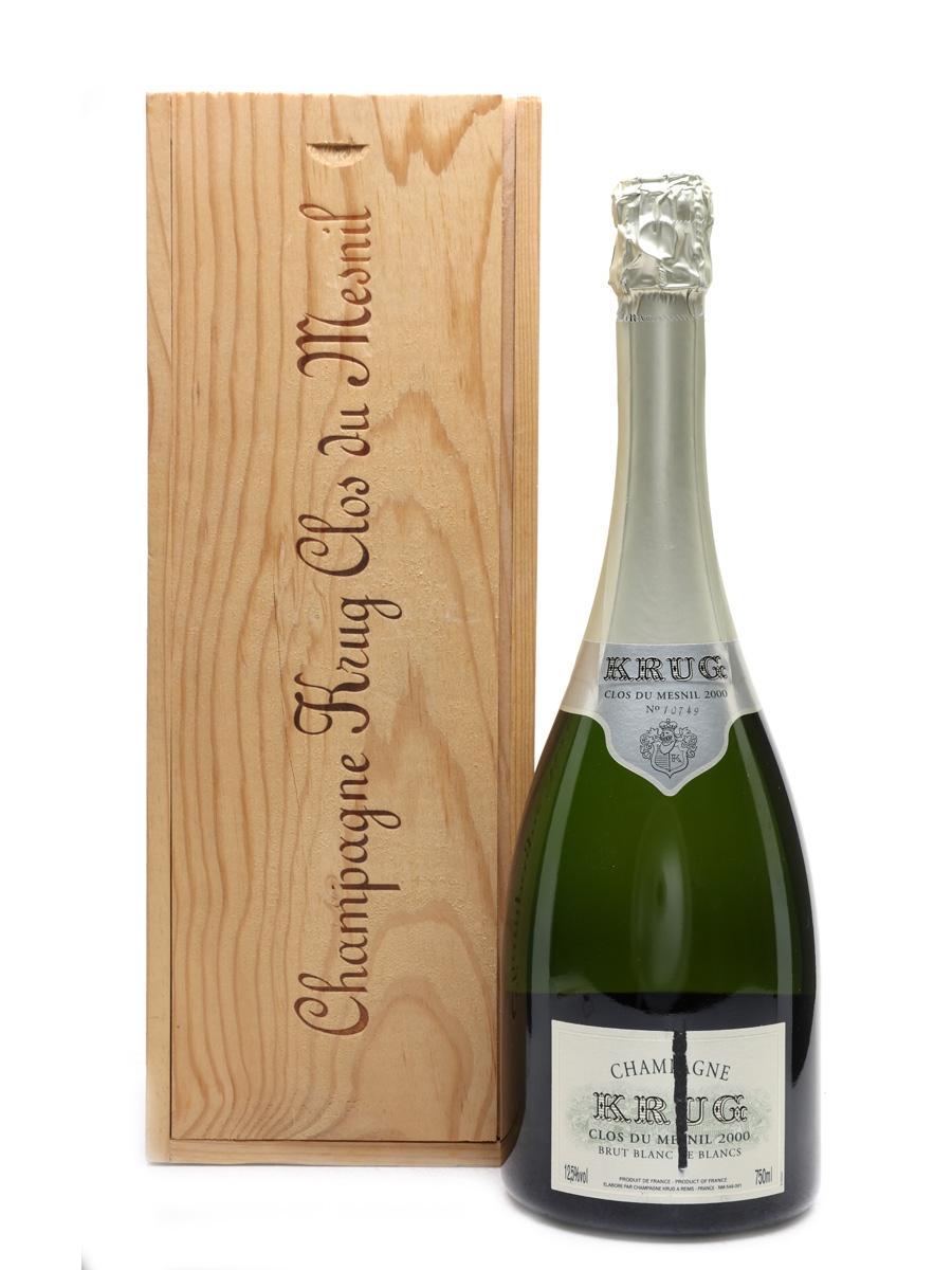 Krug 2000 Clos Du Mesnil Champagne Blanc De Blancs 75cl / 12.5%