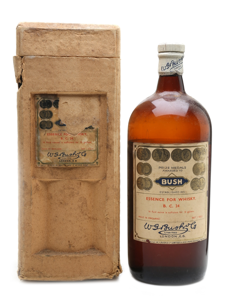 Bush Essence For Whisky BC 24 Bottled 1940s 100cl