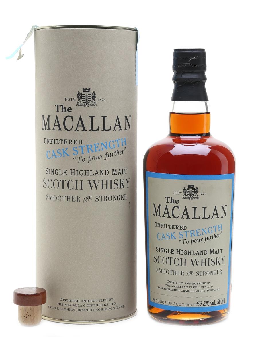 Macallan 1989 ECS 5 Oloroso Sherry Butt #552 50cl / 59.2%