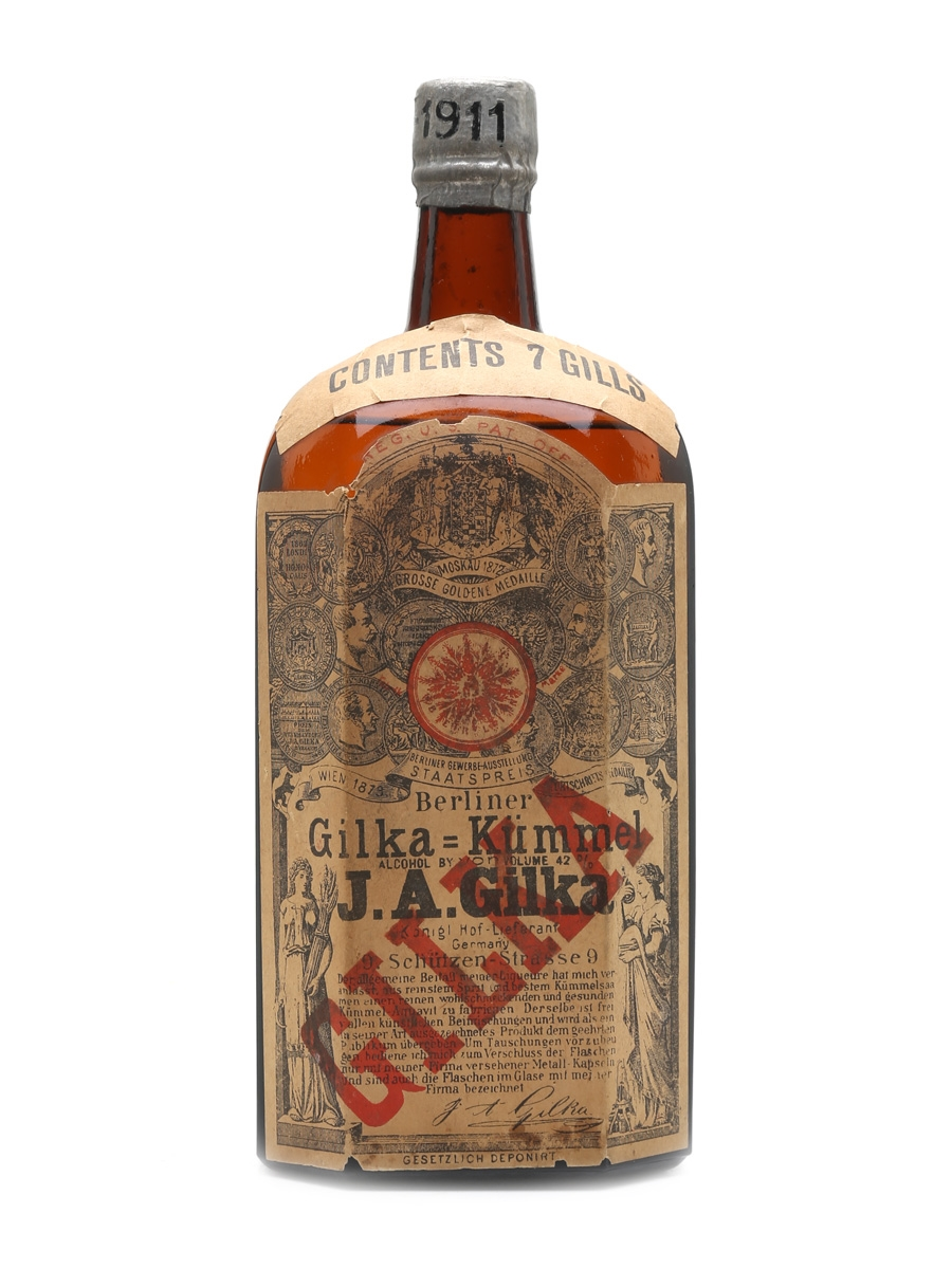 Gilka Kummel Bottled 1910s 83cl / 42%