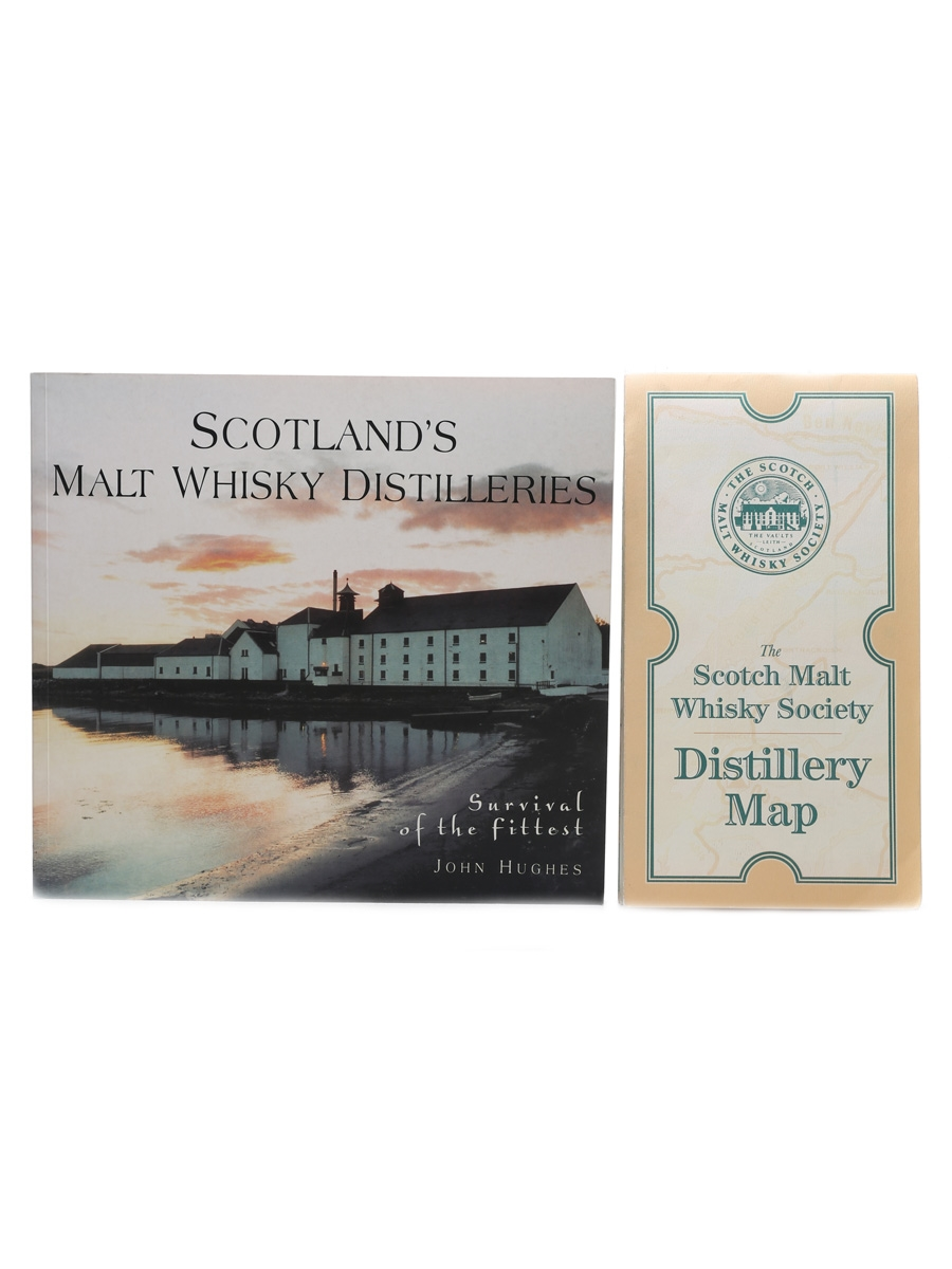 Scotland's Malt Whisky Distilleries & SMWS Distillery Map John Hughes