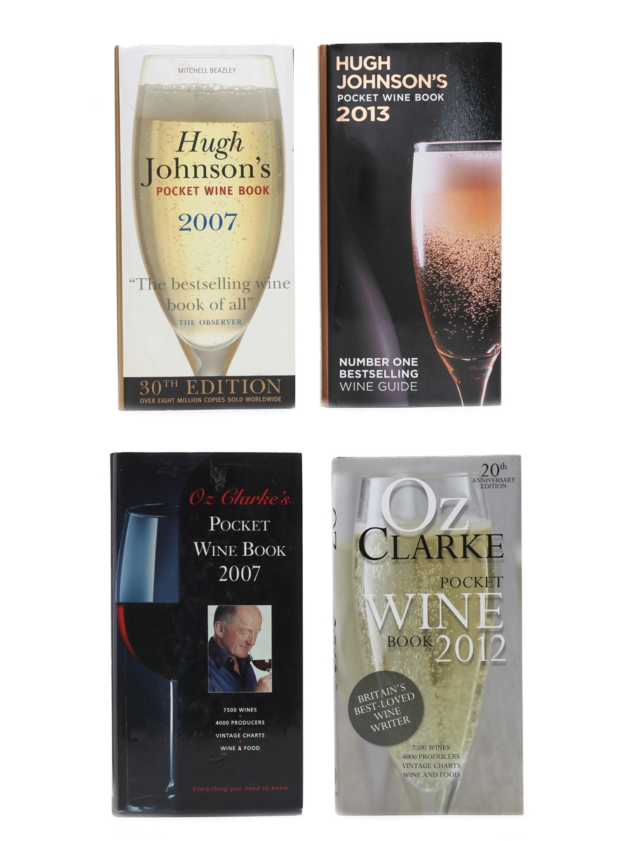 Pocket Wine Book 2007, 2012 & 2013 Hugh Johnson, Oz Clarke