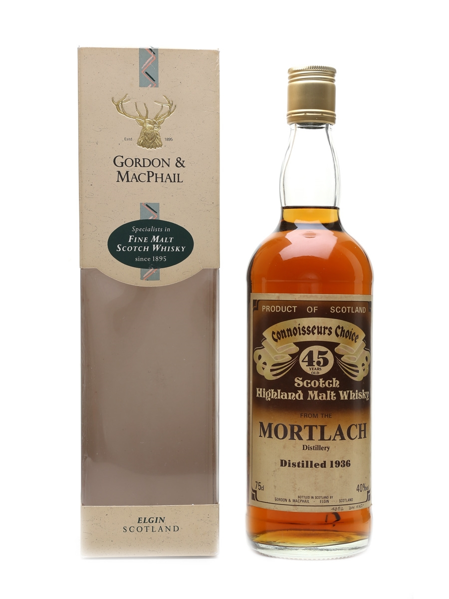 Mortlach 1936 45 Year Old - Connoisseurs Choice 75cl / 40%