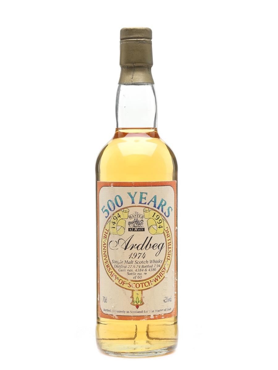Ardbeg 1974 Bottled 1994 - Master Of Malt 70cl / 43%