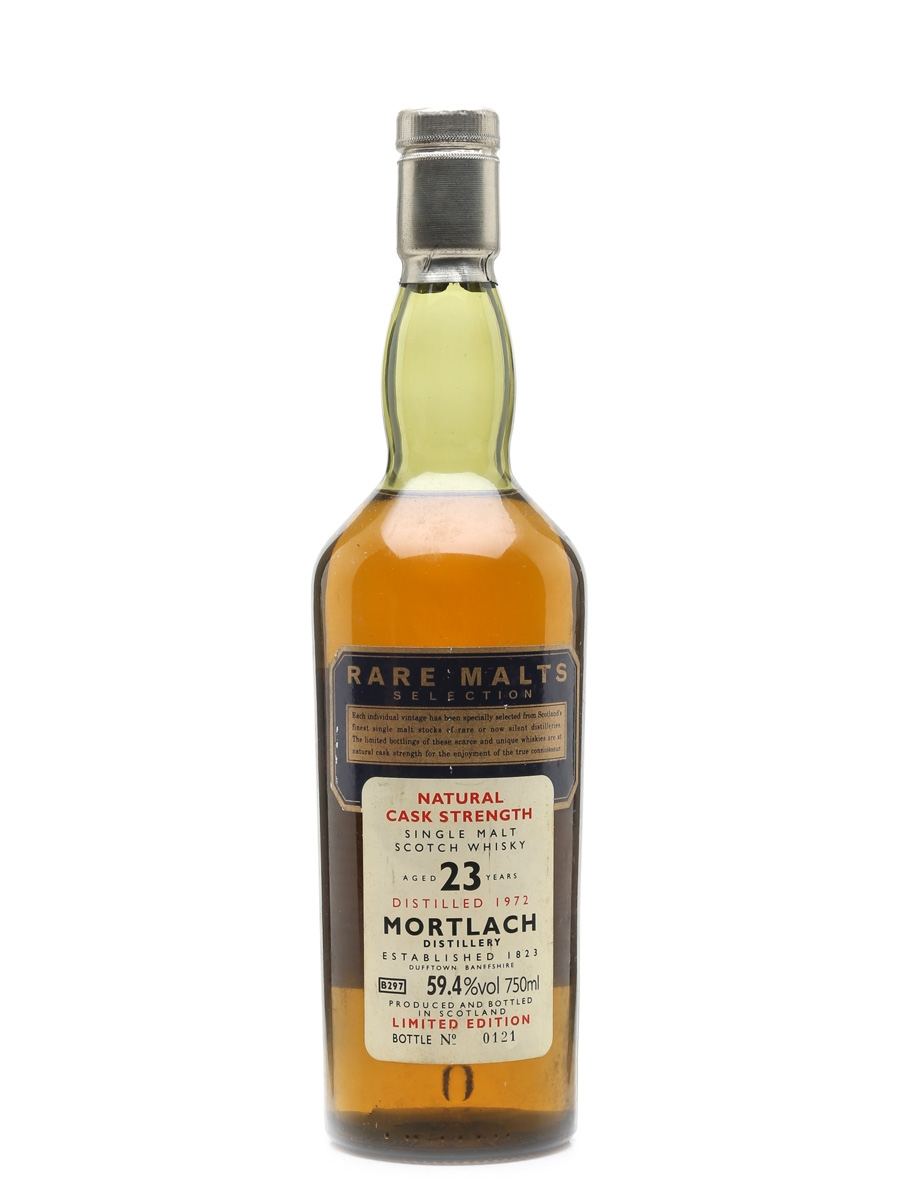 Mortlach 1972 23 Year Old Rare Malts Selection - South African Market 75cl / 59.4%