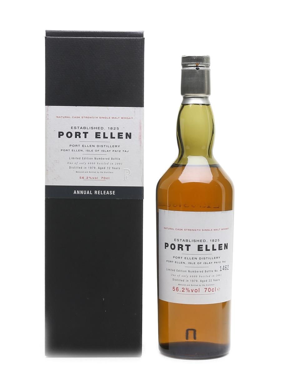 Port Ellen 1979 - 1st Release 22 Year Old 70cl / 56.2%