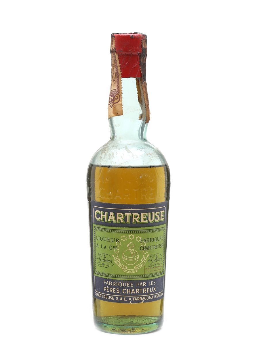 Chartreuse Green Bottled 1950s-1960s - Tarragona 50cl / 55%