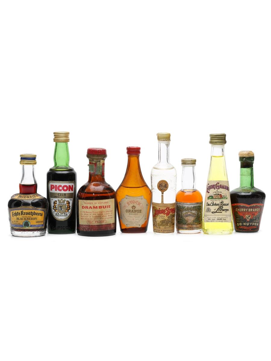 8 x Assorted Liqueurs Miniatures