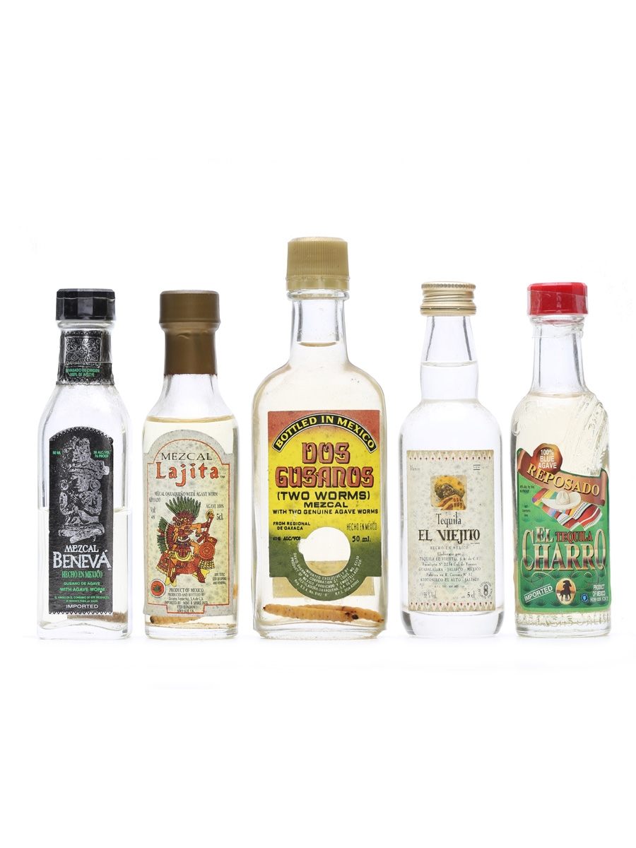 5 x Assorted Tequila Miniatures