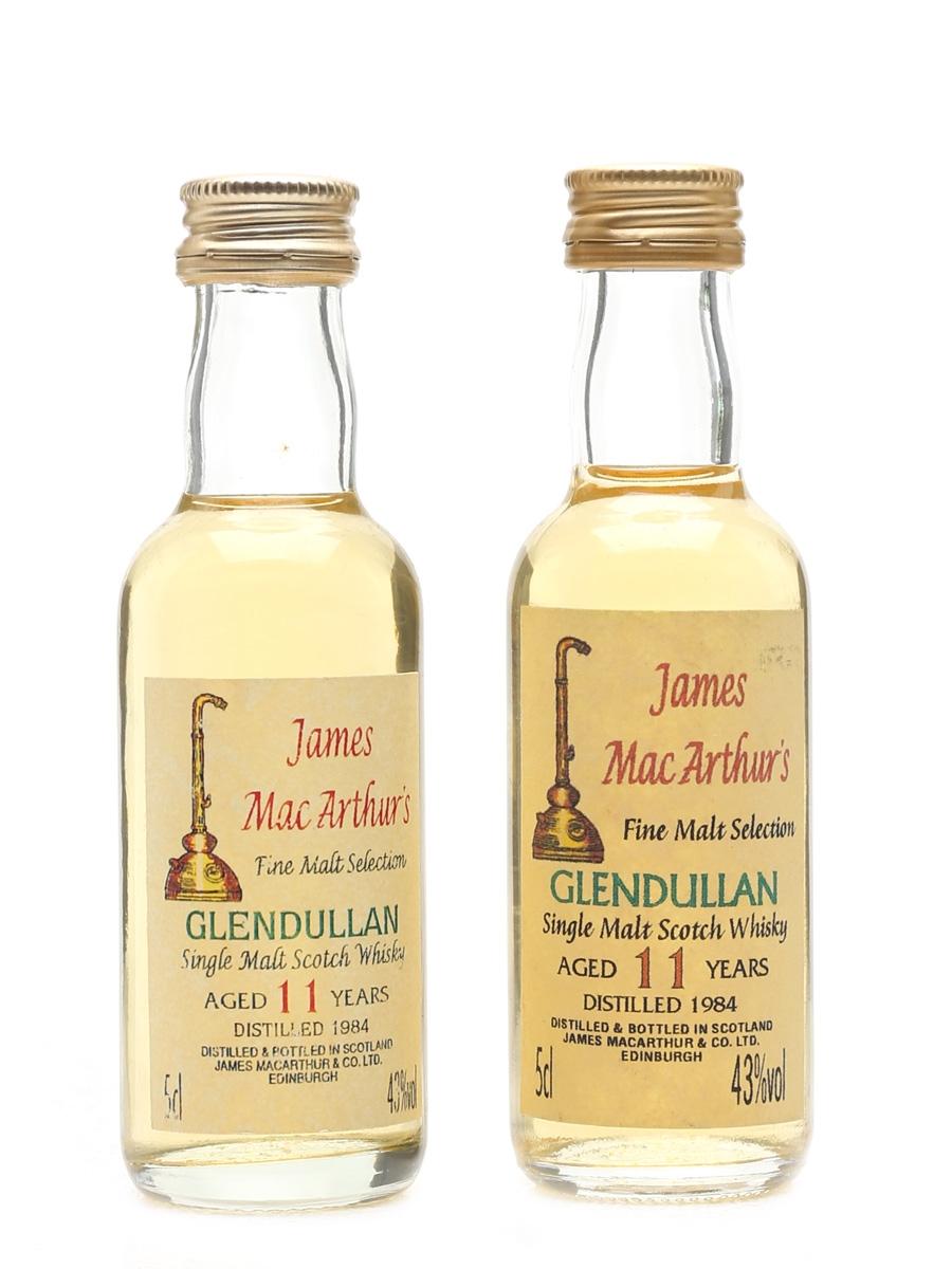 Glendullan 1984 11 Year Old - James MacArthur's 2 x 5cl / 43%