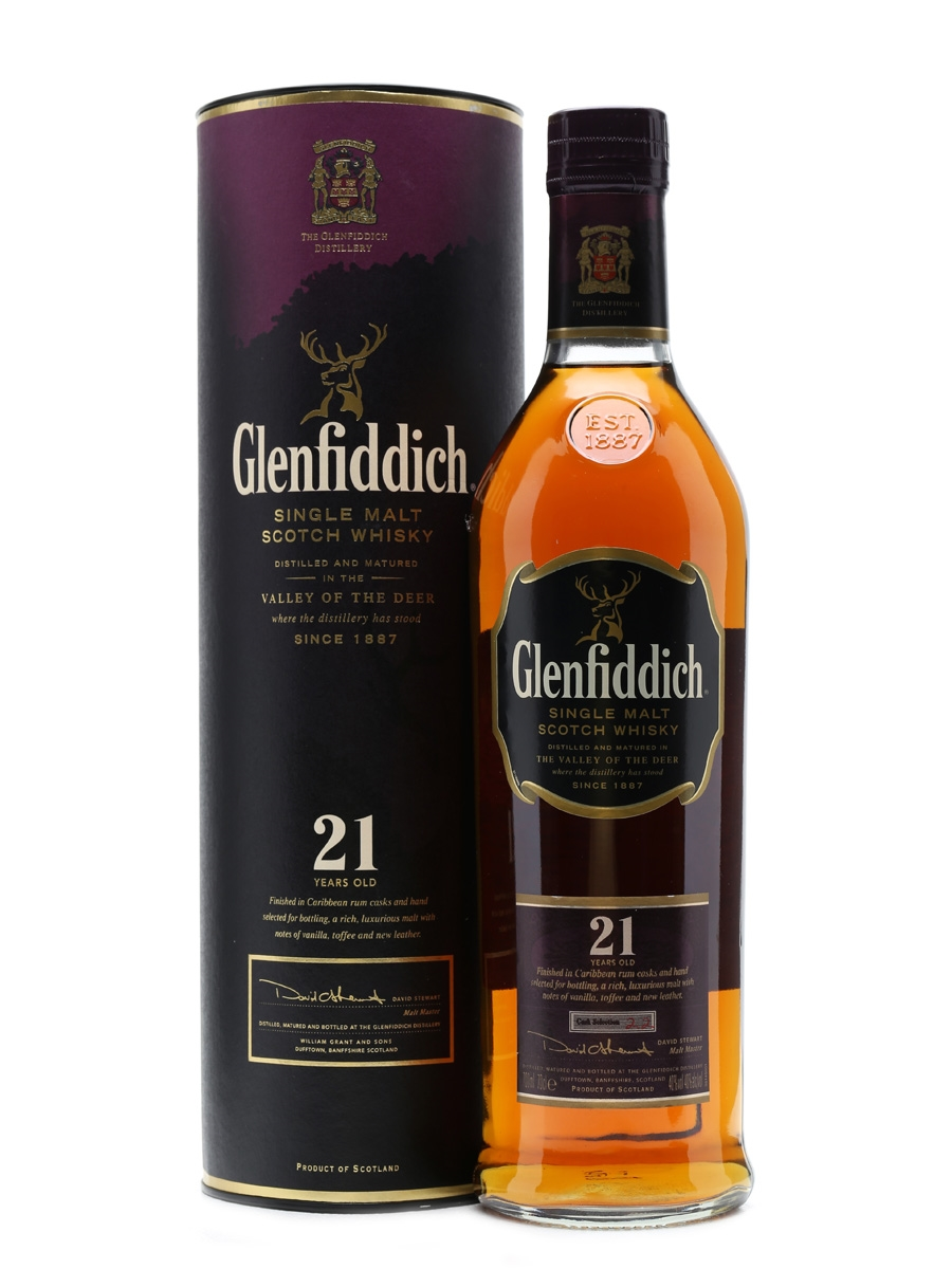 Glenfiddich 21 Years Old Caribbean Rum Finish 70cl